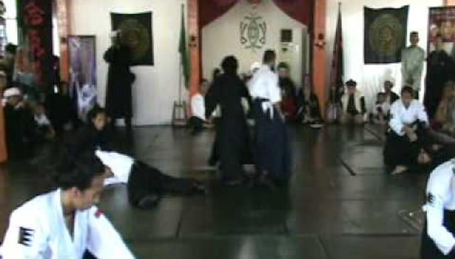 Husband and wife Aikido Presentation at Rabbani Haqqani Zawiya
