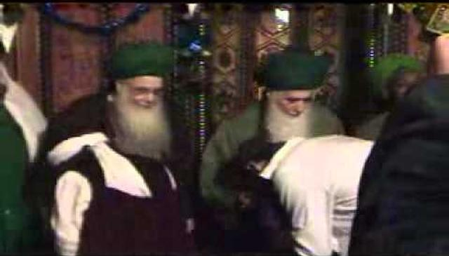 The Mureeds Greeting Shaykh Hisham and Shaykh Adnan
