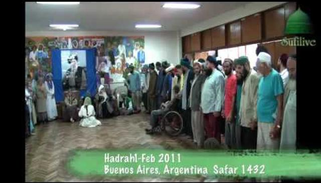 Spanish tribute to Mawlana and Hajjah