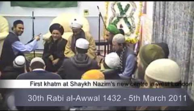 Good Tidings from Sultan ul-Awliya and Mawlana Shaykh Hisham to the New Center in London