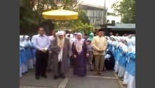 Welcome to Indonesia, Mawlana Shaykh Hisham, Hajjah Naziha and Sajeda!