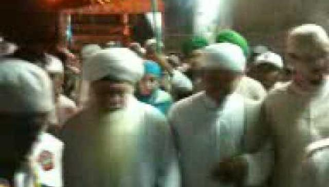 Departure of Mawlana Shaykh Hisham from Mawlid An-Nabi (saw) with K.H. Amir Hamza