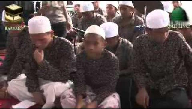 Orphans Sing the Praises of Prophet Muhammad (saw)