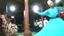 Sufi Whirling in Honor of Mawlana Shaykh Hisham's Presence at Nahdlatul `Ulama