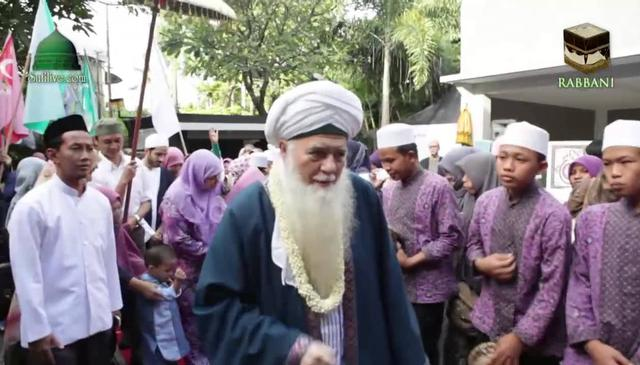 Welcoming Shaykh Hisham in Indonesia