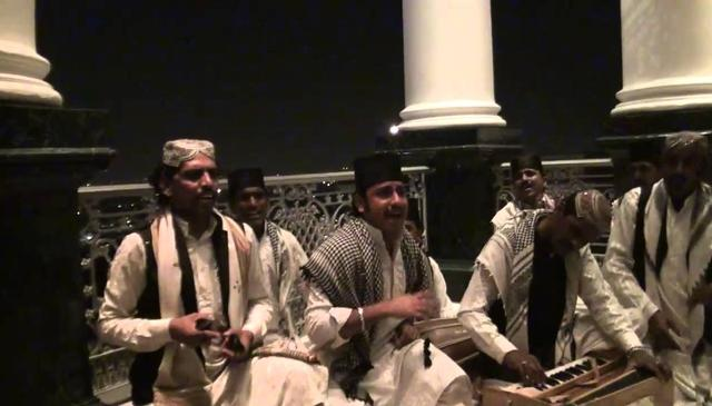 Qawwali Extraordinaire at Taj Falaknuma Palace in Hyderabad
