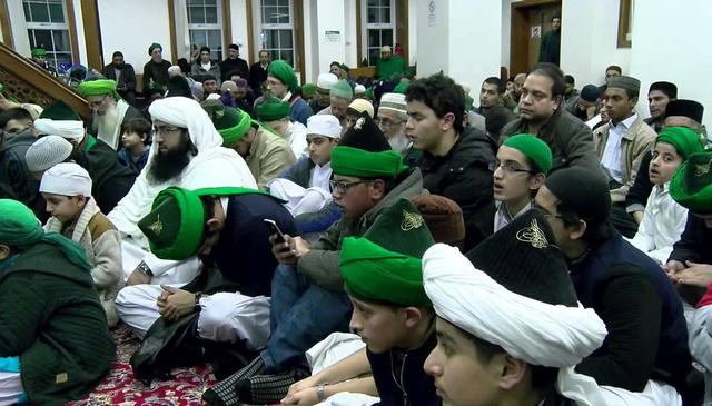 Beautiful Mawlid and Ziyarah at the Feltham Dergah of Mawlana Shaykh Nazim (q)