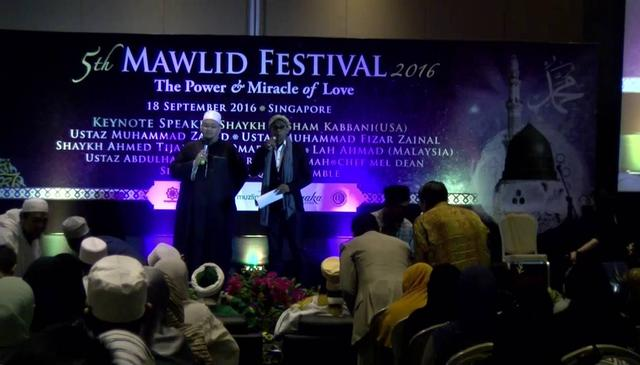 Grand Mawlid Celebration in Singapore - Entire event