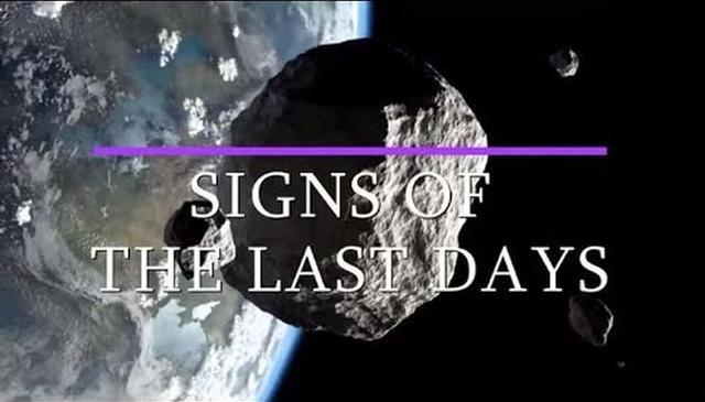 Signs of the Last Days (Onscreen Text)
