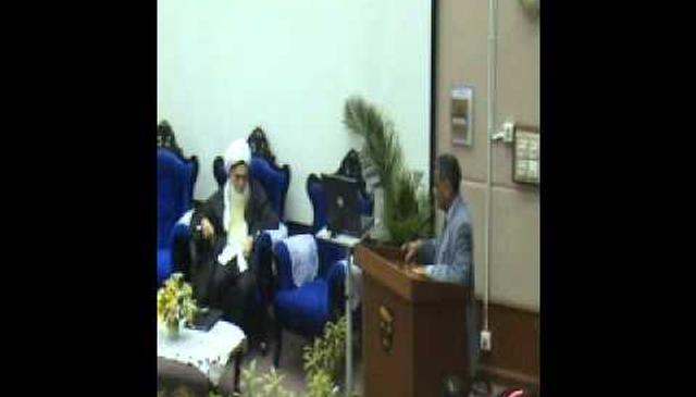 University Speech - Praising Mawlana